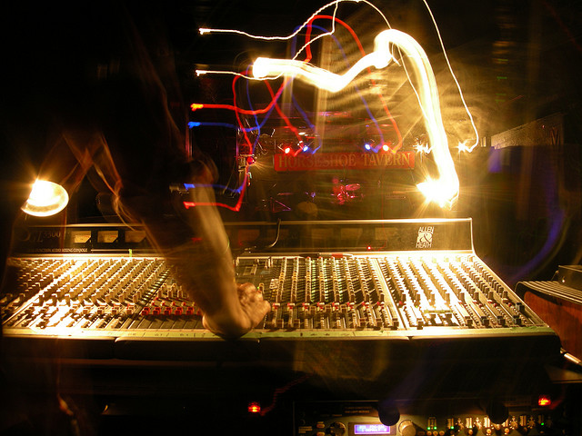 mixing live sound