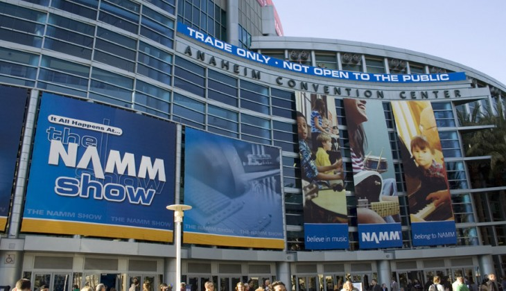 Warming Up for NAMM 2012
