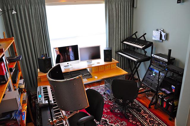 Fabulous Building A Home Recording Studio For Under 1 000 Audio Issues Inspirational Interior Design Netriciaus