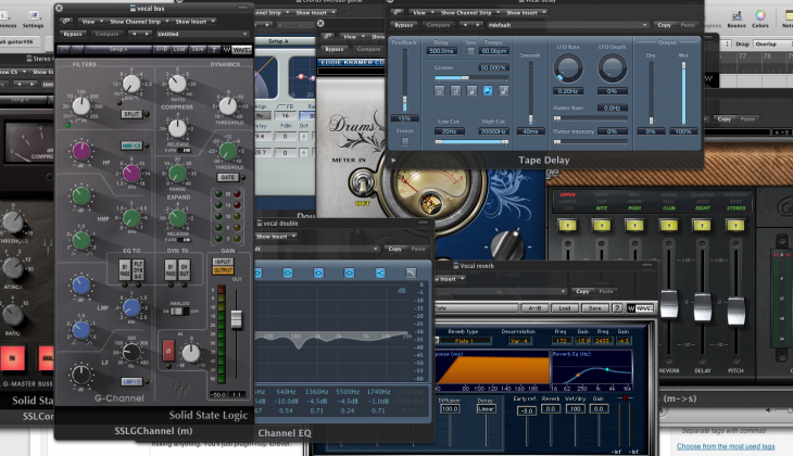 too many audio plugins