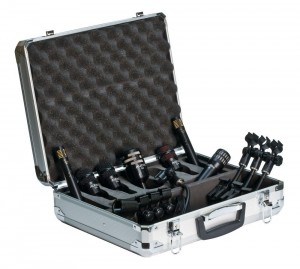 audix microphone package for drums