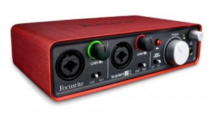 focusrite scarlett audio interface