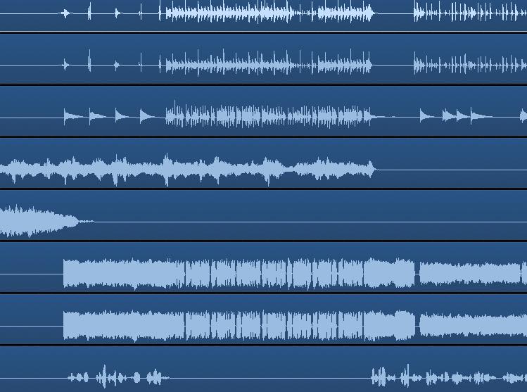 loud raw recordings