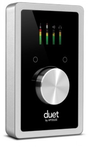 Apogee Duet interface