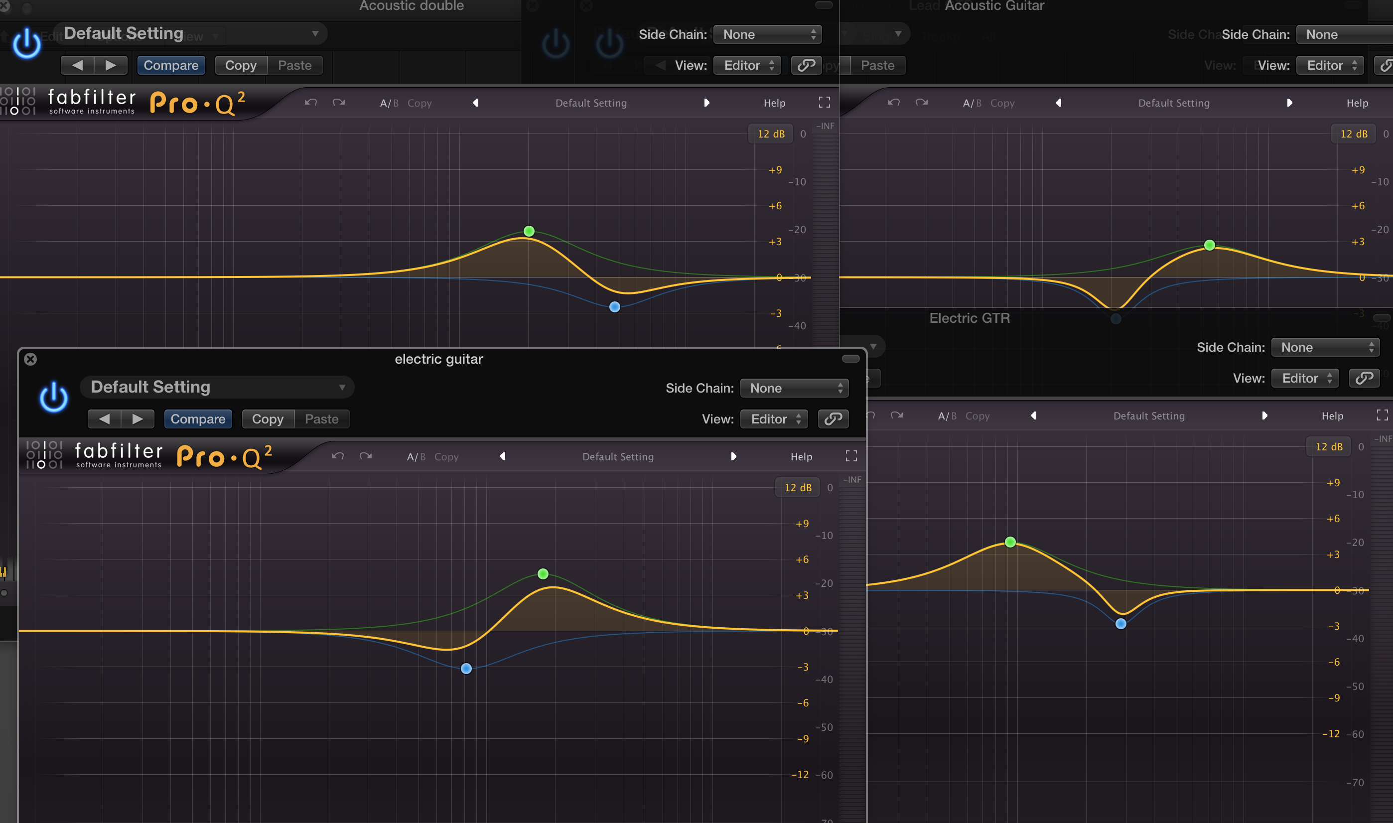 One Minute EQ Trick: Giving Your Guitars Space in the Mix With EQ
