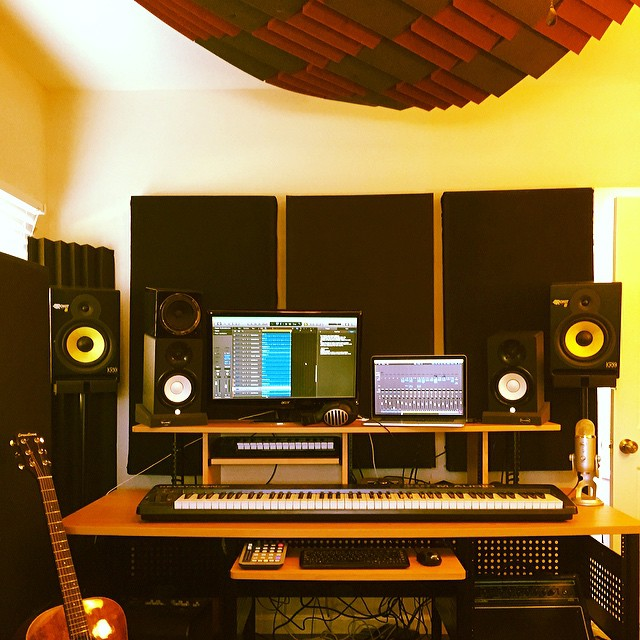 How to make a recording studio acoustics