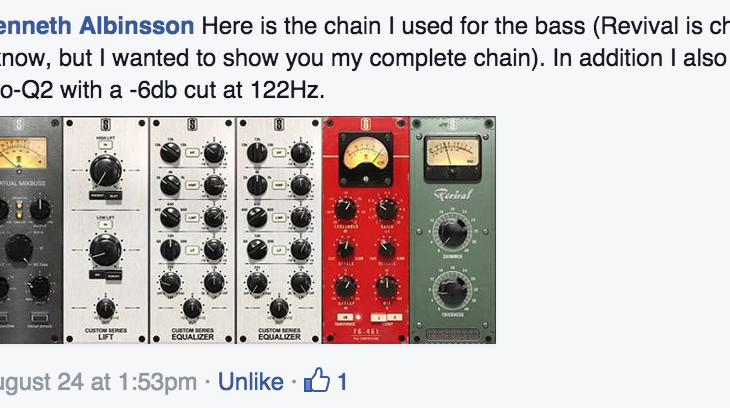 Let's peak inside our exclusive mixing community on Facebook…
