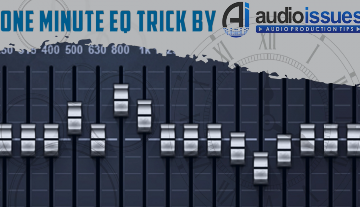 One Minute EQ Trick #5 – How to Add Low-Mid Power to Your Snare Drum Track