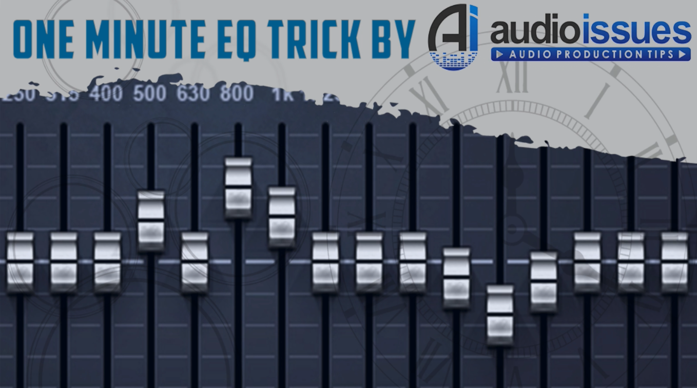 One Minute EQ Trick - Low-Pass Filter for Cleaner Rock Guitars