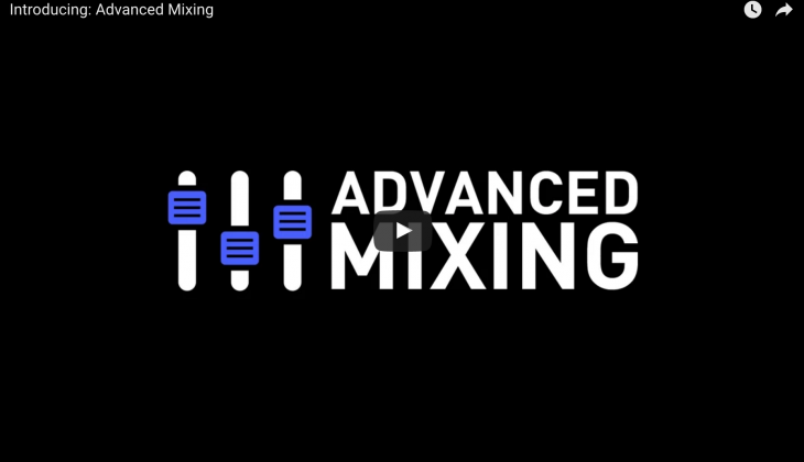 For advanced mixing engineers only