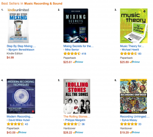 #1 on Amazon in Music Recording & Sound.