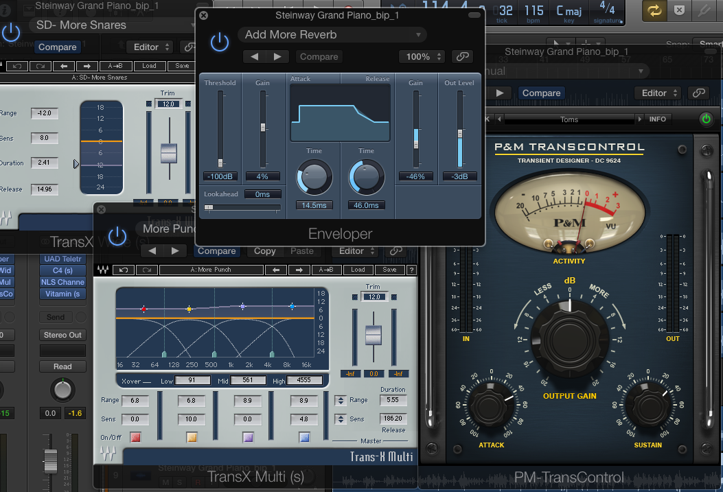 How to Use Transient Designers to Kill the Reverb in Your Drums