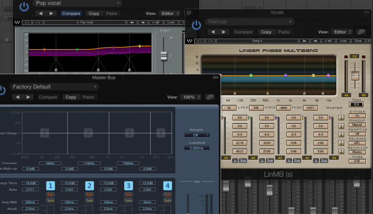 4 Places Multi-band Compression Can Change the Way You Mix
