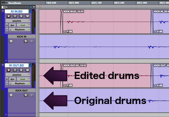 10 tips to create better drum edits - Playlists for Beat Detective
