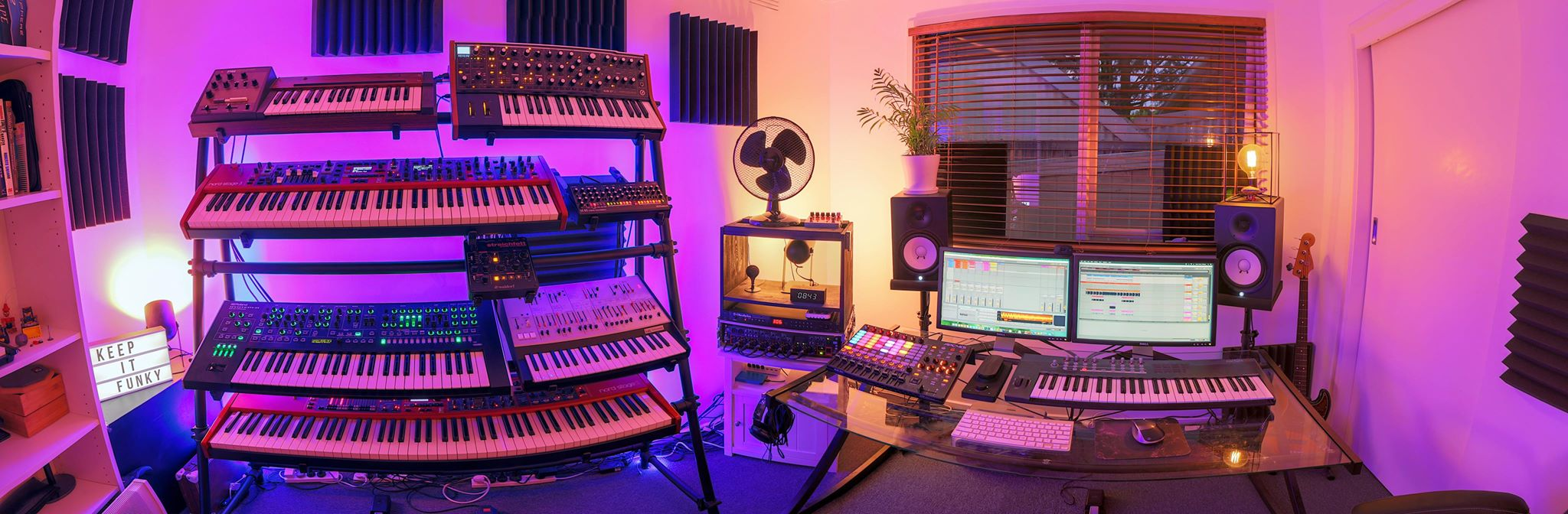Mike Pensini Home Studio