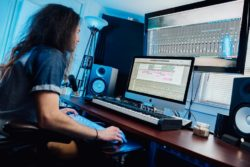 Corey Justin horn Home Studio