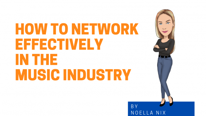 How to Network Effectively in the Music Industry graphic image