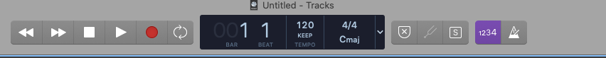 global track settings