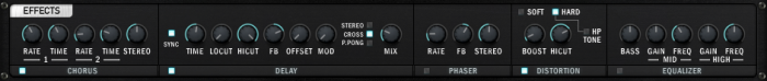 Audio Issues - Synthesizer parameters - 13 - Effects cropped